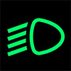 Dipped Beam Headlight Symbol