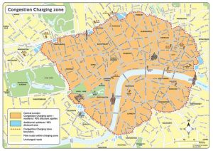 London T Charge Area