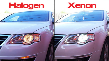 Halogen Xenon Headlights