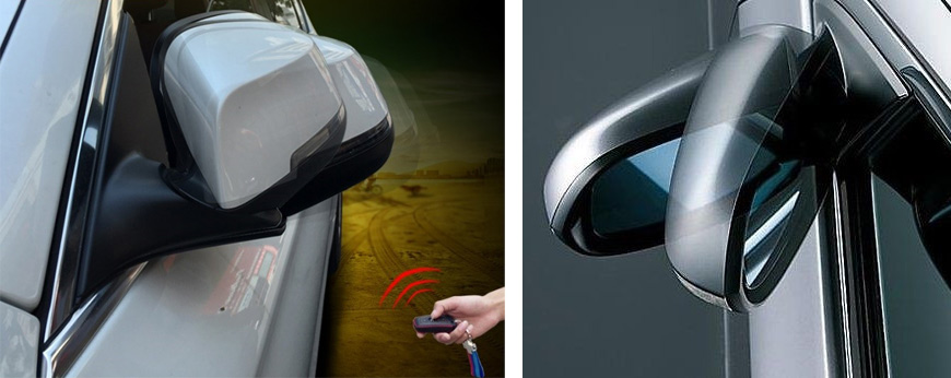 Power Folding Wing Mirrors