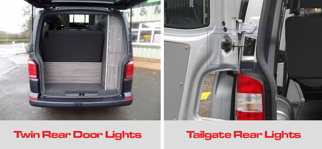 Tailgate Twin Rear Lights