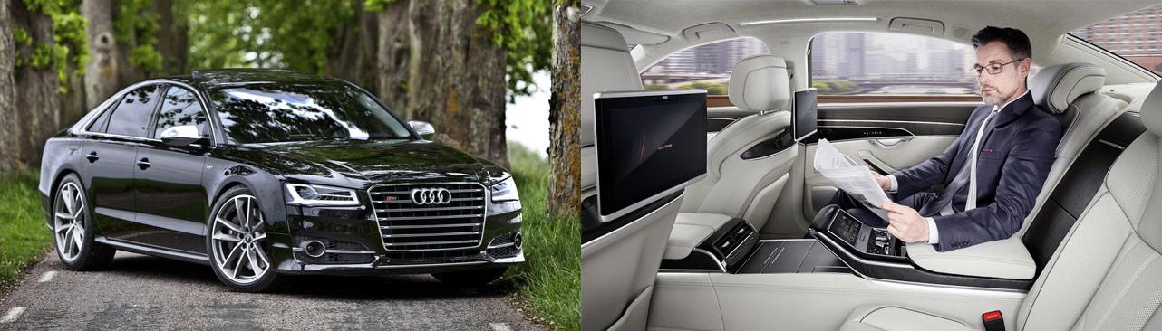 Audi S8 - R8