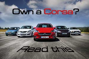 Vauxhall Corsa faults & problems