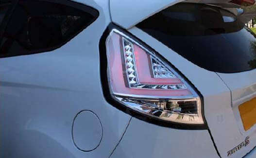 Ford Fiesta Mk7 performance LED Chrome rear lights fitting guide image 6