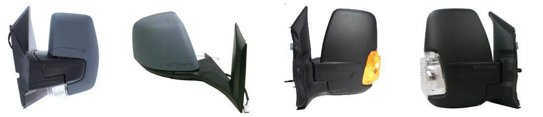 Ford Transit replacement wing mirror range