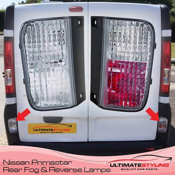 Nissan Primastar Reverse Lights