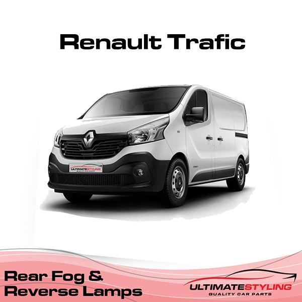 Renault Trafic fog light cluster