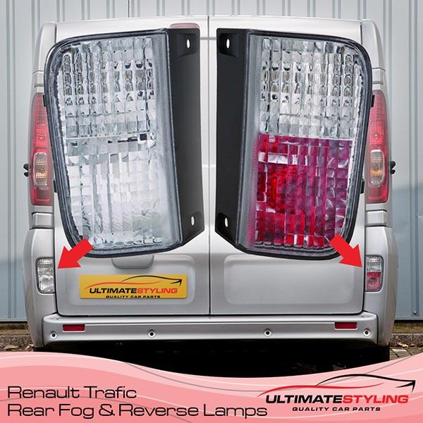 Renault Trafic Reverse Lights