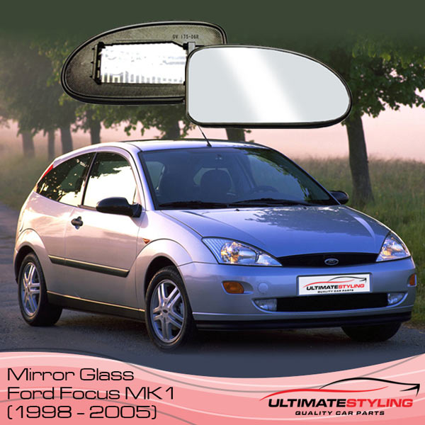 Ford Focus mk1 wing mirror glass replacement