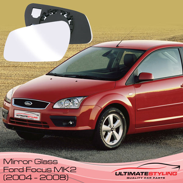 Ford Focus mk2 wing mirror glass replacement