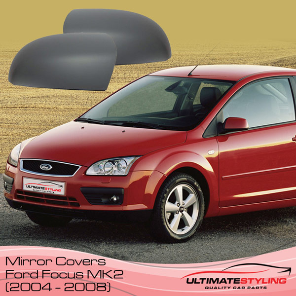Wing mirror covers for the Ford Focus MK2