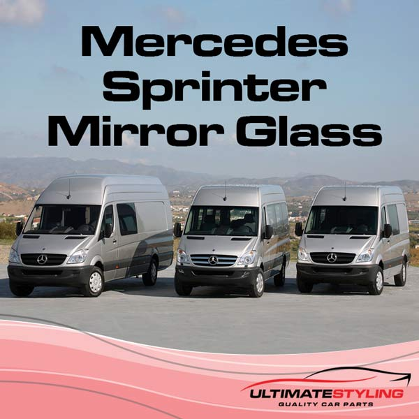 Wing Mirrors for your 1995 - 2006 Mercedes Sprinter van