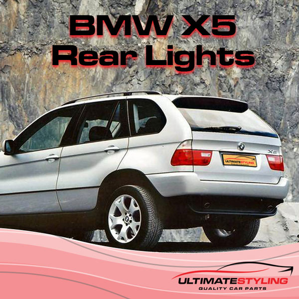 BMW X5 Rear Lights