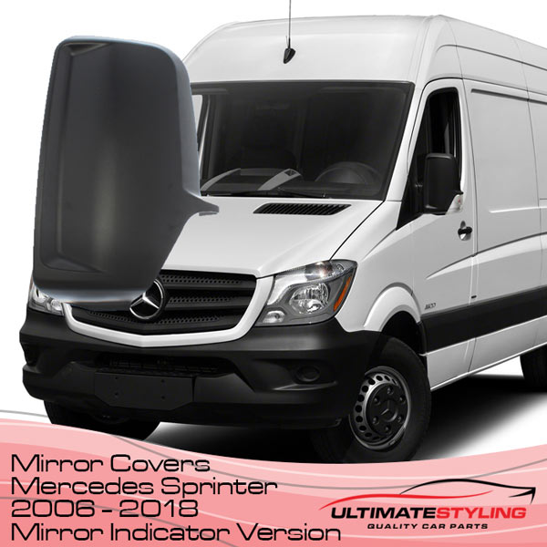 Wing mirror covers for the Mercedes Sprinter van