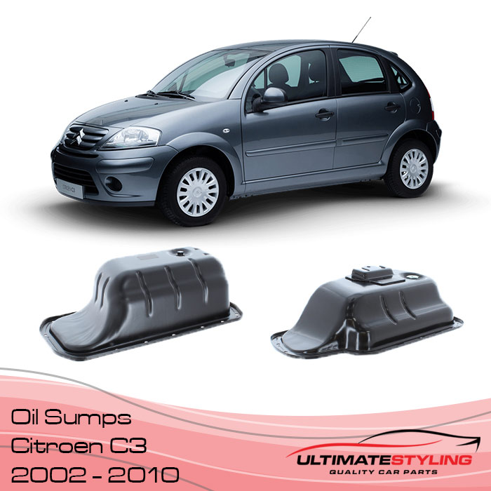 Oil Sump for the Citroen C3 - 2002 - 2010