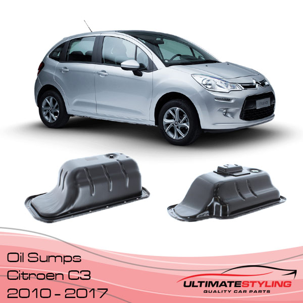 Citroen C3 Replacement Oil Sump 2010 - 2017