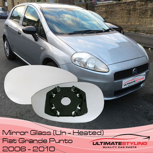 Fiat Grande Punto Non-Heated wing mirror glass