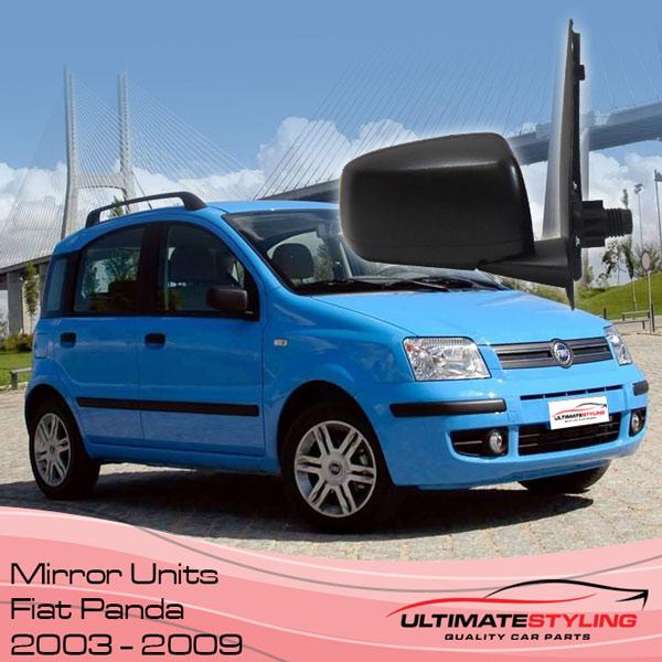 Fiat Panda wing mirror for 2003 - 2009 models