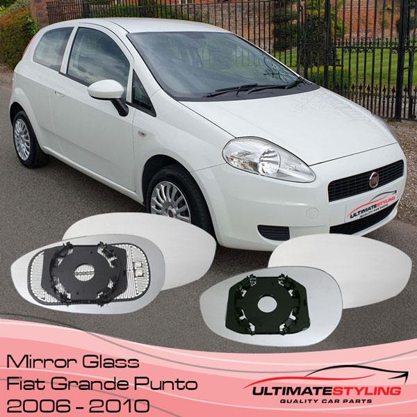Fiat Grande Punto wing mirror glass