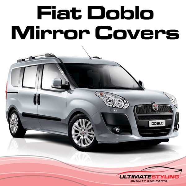 Wing mirror covers for the Fiat Doblo
