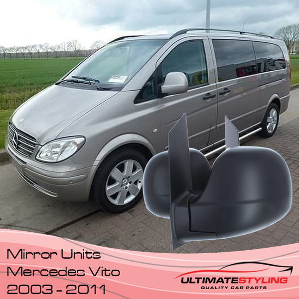 Mercedes Vito Wing Mirror Replacements 2003 - 2011