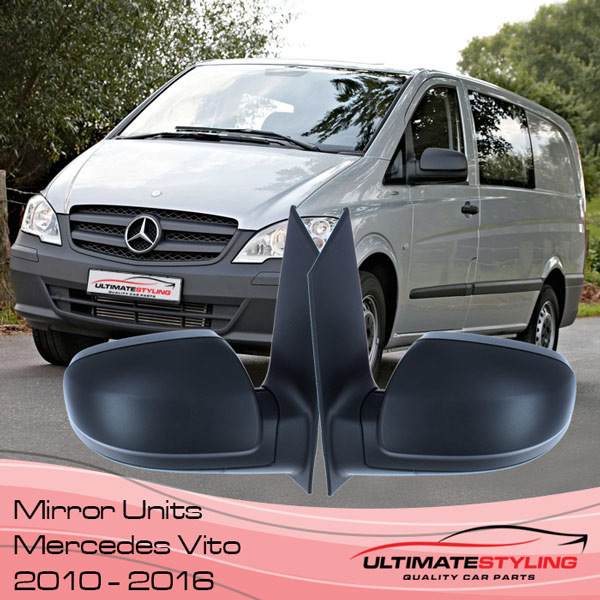 Mercedes Vito Wing Mirror Replacements 2010 - 2016