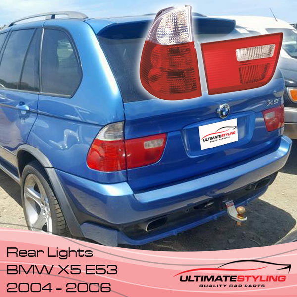 BMW X5 E53 Tail Lights