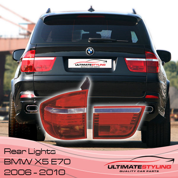 BMW X5 E70 Facelift Rear Lights