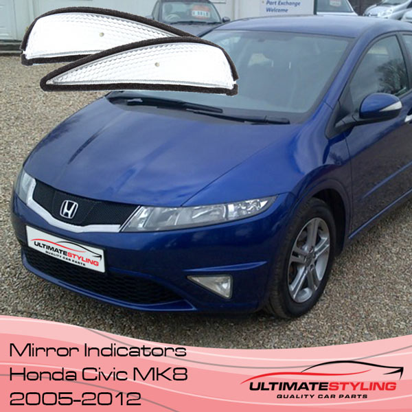 Honda Civic wing mirror indicator replacements