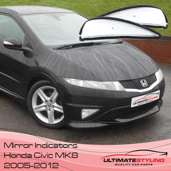 Honda Civic wing miror indicator lens