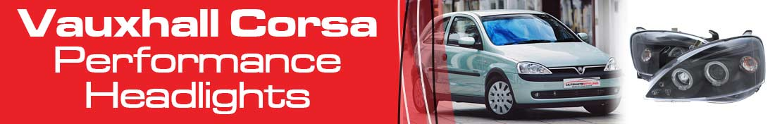 Vauxhall Corsa aftermarket headlights