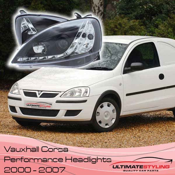 Corsa aftermarket performance Headlights