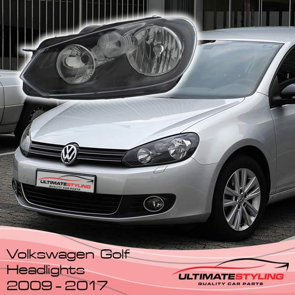VW Golf MK6 Headlights