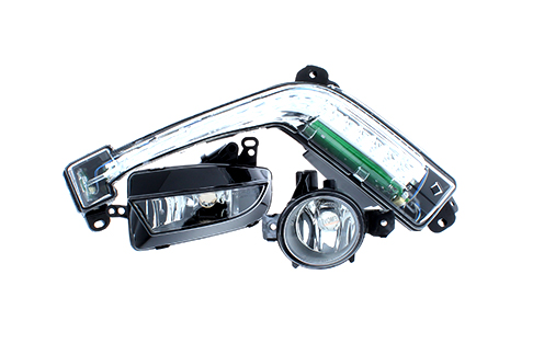 Front fog lights and daytime running lights - DRLs