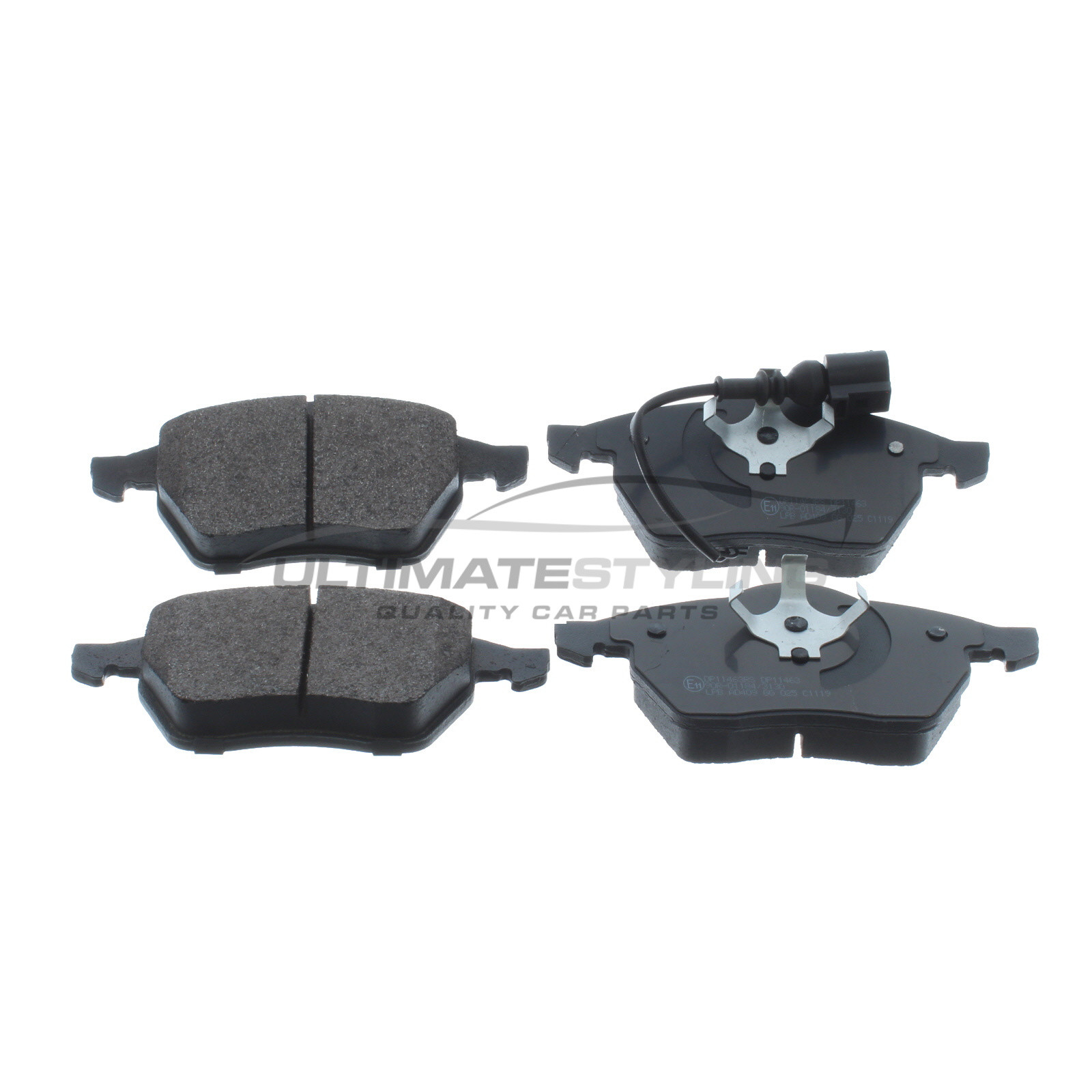 Seat Volkswagen Skoda Front Brake Pads for Audi