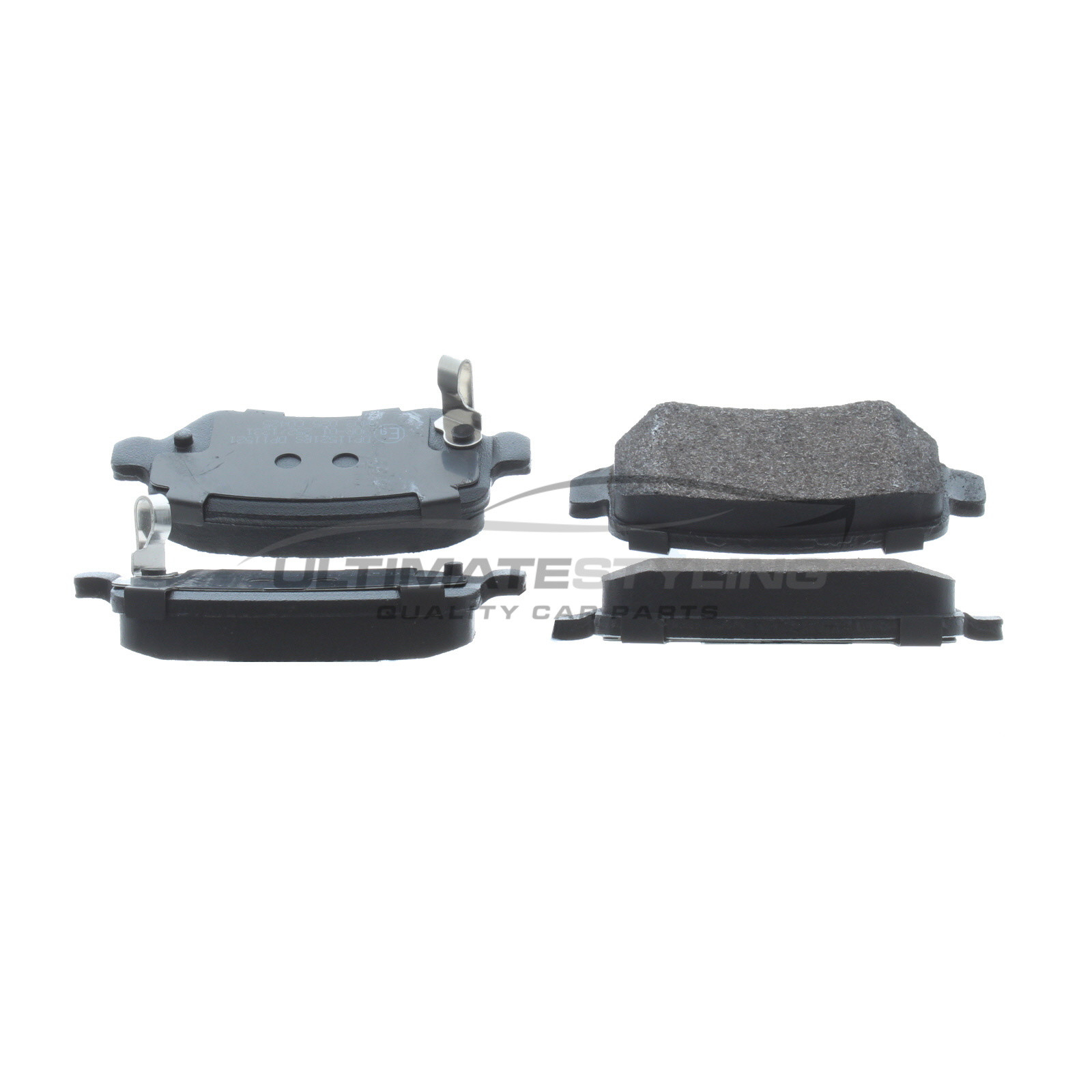 OEM SPEC FRONT AND REAR DISCS PADS FOR VAUXHALL MERIVA 1.6 2002-05