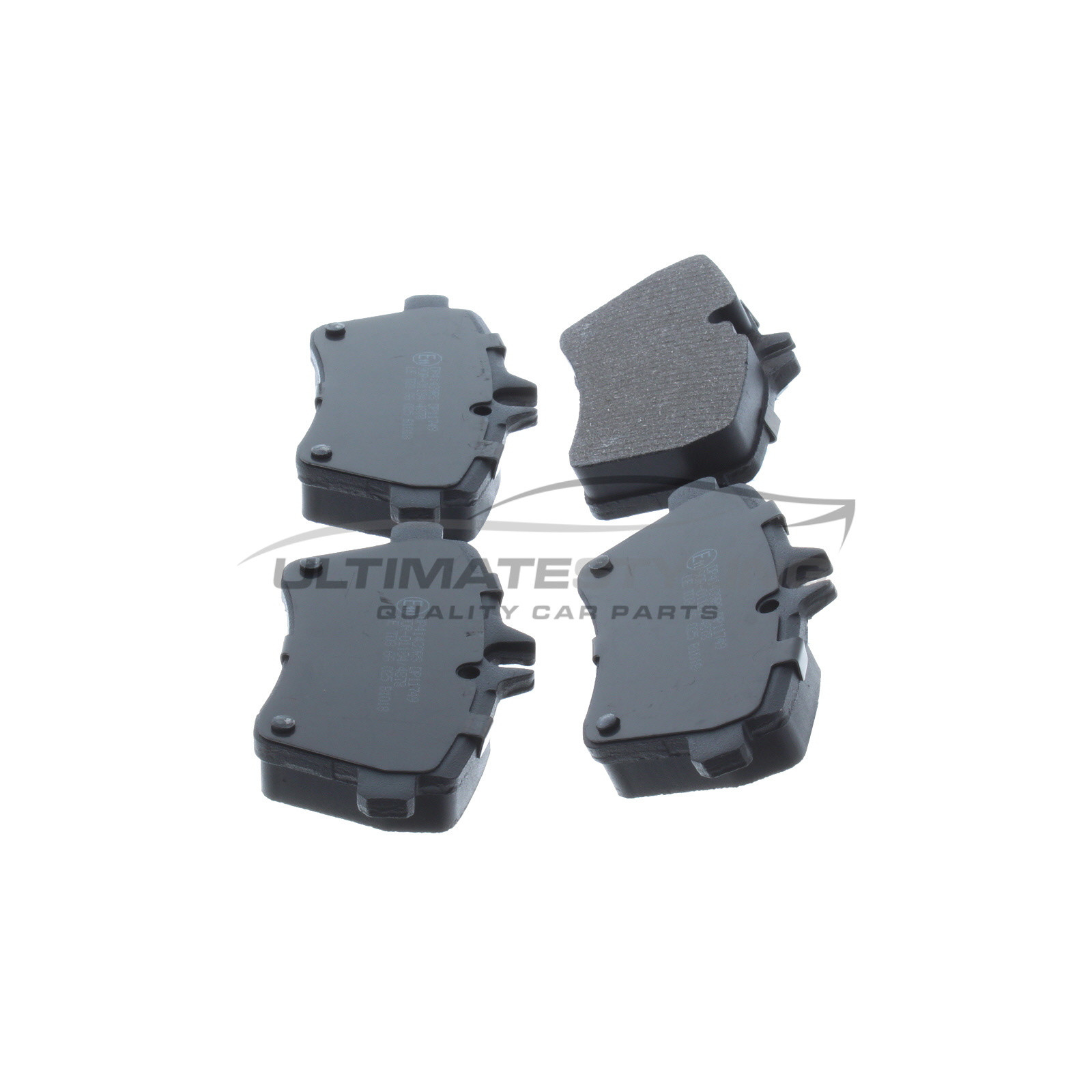 A180 1.7 OEM SPEC FRONT AND REAR PADS FOR MERCEDES-BENZ A-CLASS W169 2009-12