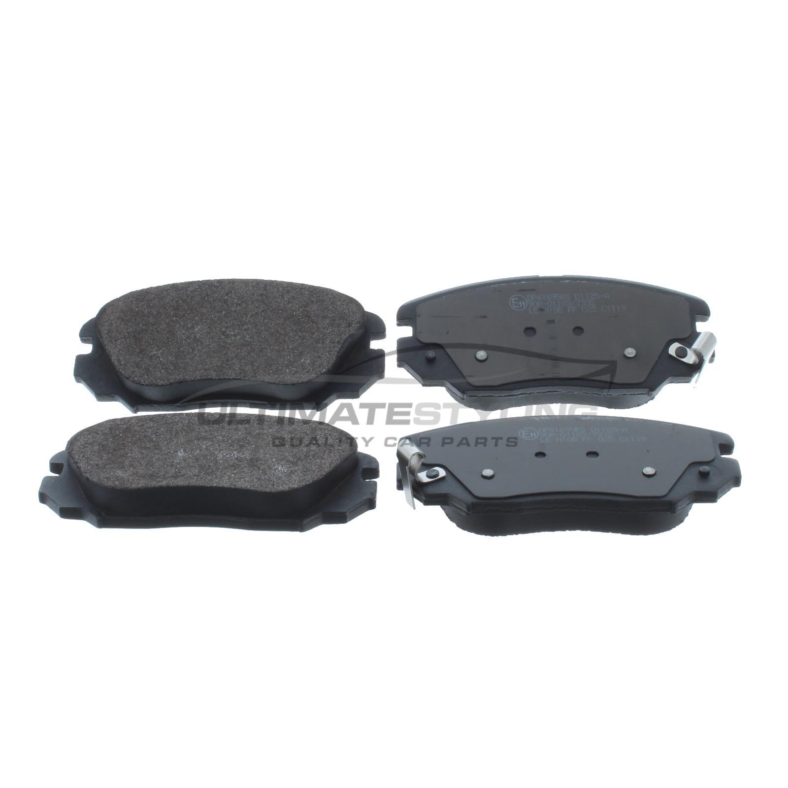Brake Pads Front For Hyundai Grandeur Sonata Saab 9 5