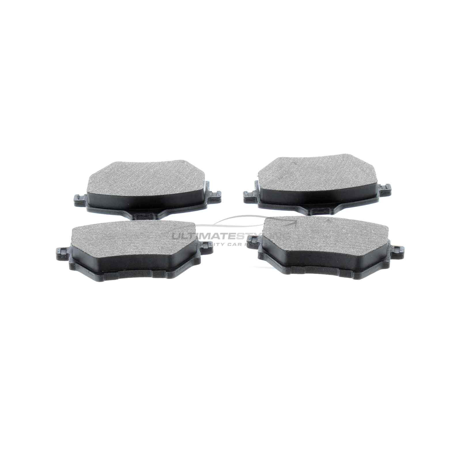 brake pads rear for citroen c4 grand picasso c4 picasso peugeot and others. Black Bedroom Furniture Sets. Home Design Ideas