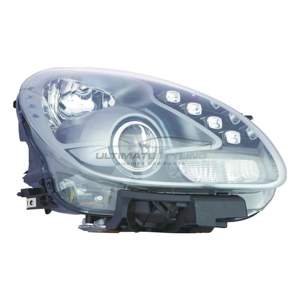 Alfa Romeo Giulietta Headlight / Headlamp - Drivers Side (RH) - Halogen With LED Daytime Running Lamp (DRL)