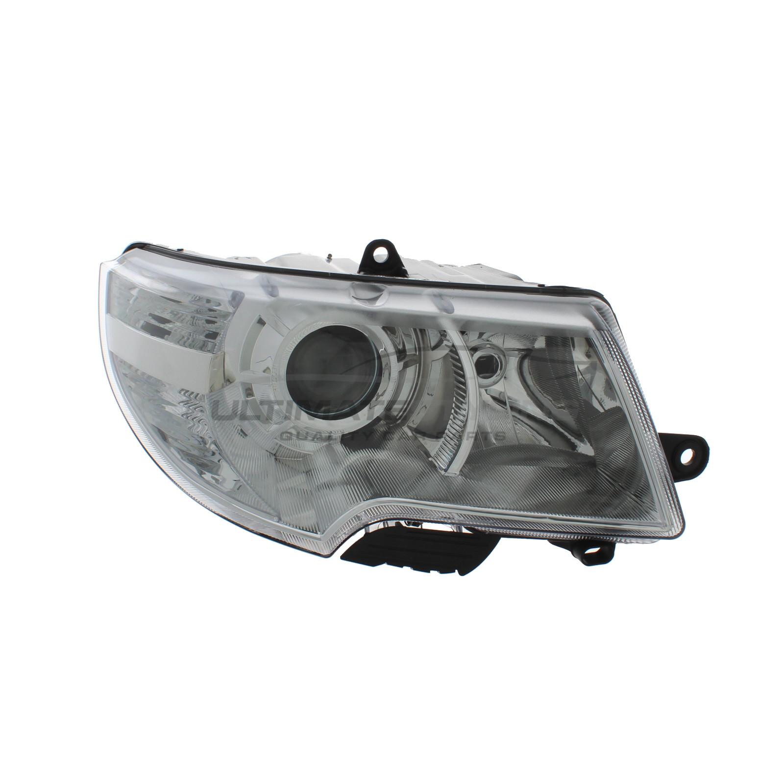 Skoda Superb Headlight Headlamp Drivers Side Rh Halogen