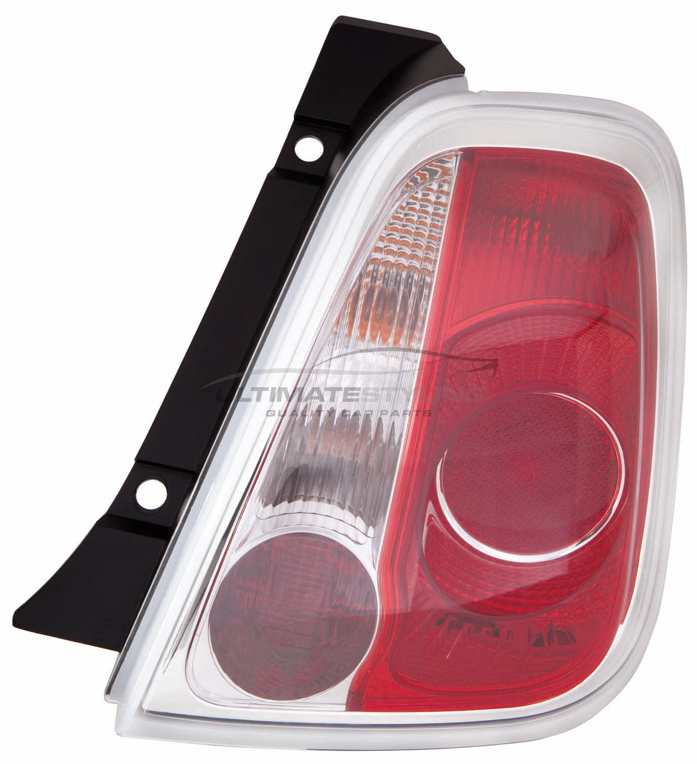 RH PY21W R10W P21W x 2 Side Of Product Drivers Side Reference OE//OEM Number s s 51885545 Ultimate Styling Aftermarket Non-LED Rear Tail Light Lamp Without Bulb Holder Bulb Type