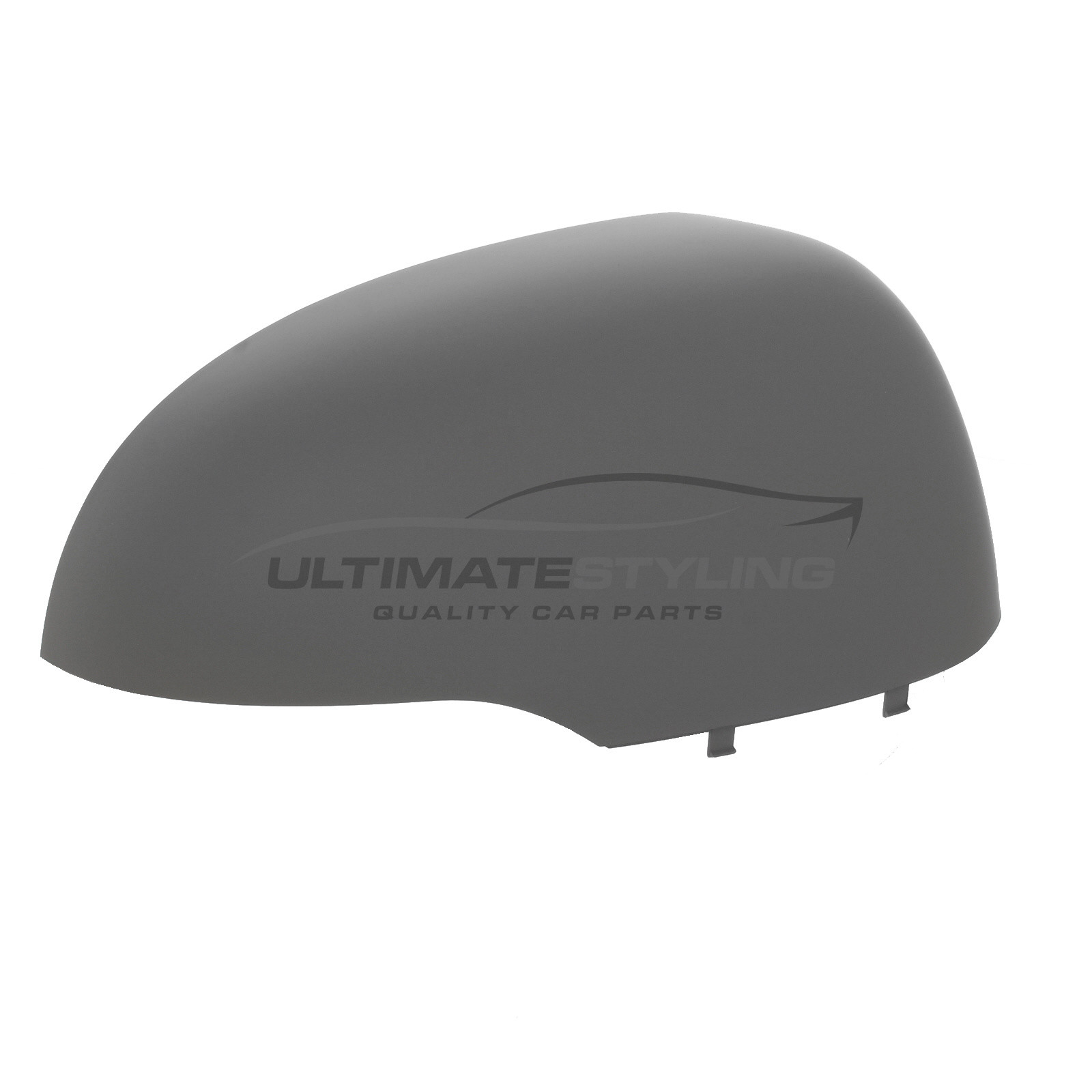 Left Hand Side Ultimate Styling Aftermarket Replacement Wing Mirror Cover Cap Colour Of Cover Black LH Textured For Passenger Side