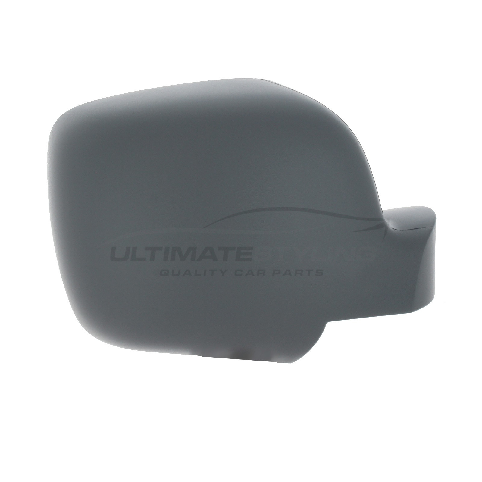 Ultimate Styling Aftermarket Replacement Wing Mirror Cover Cap Colour Of Cover Black Textured For Passenger Side LH Left Hand Side
