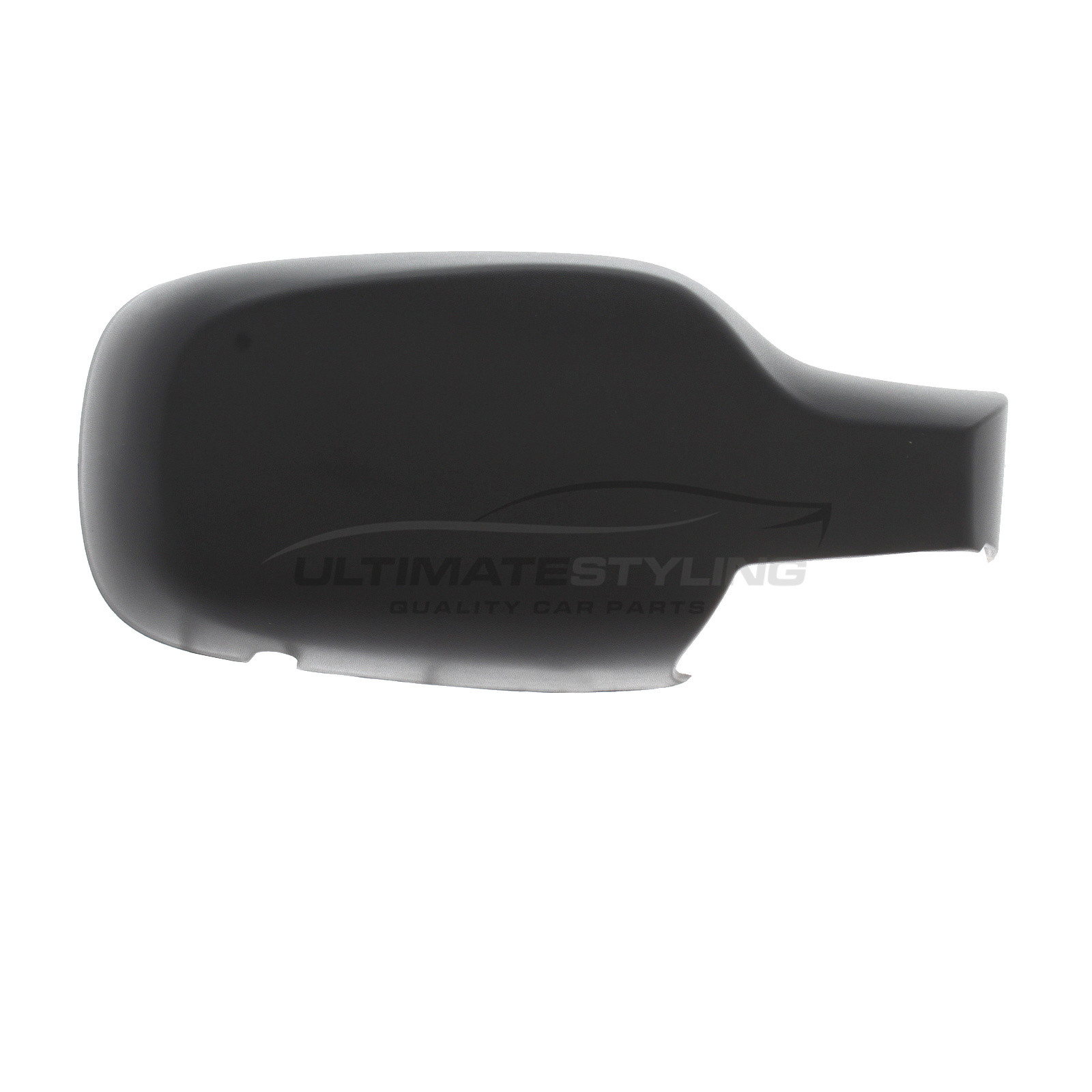 Renault Clio Mk3 2005-2009 Door Wing Mirror Cover Black O//S Drivers Side Right