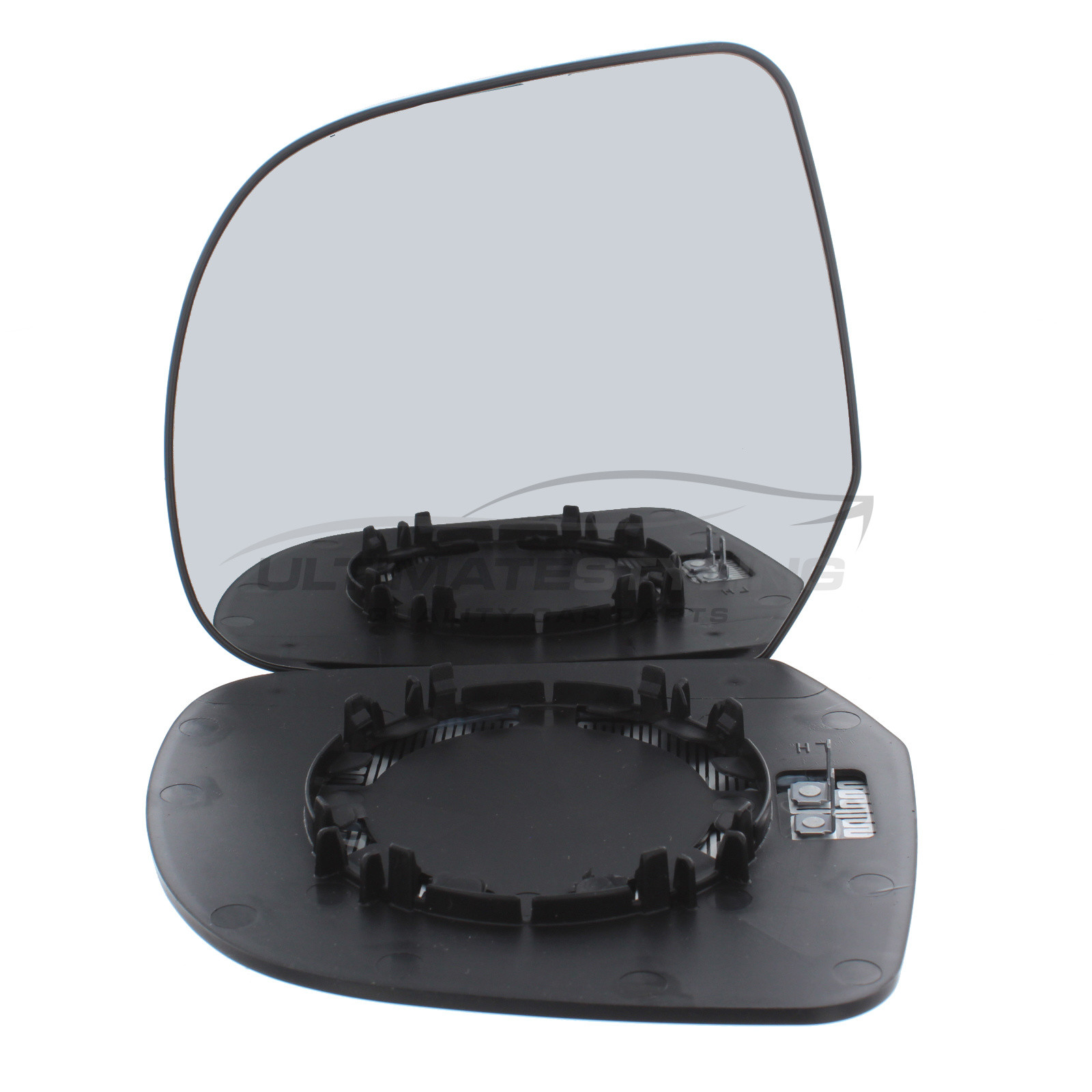 Dacia Duster SUV 2012-12//2014 Heated Convex Wing Mirror Glass Drivers Side O//S