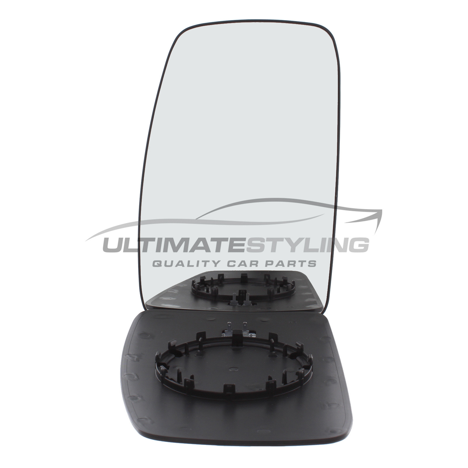 RH Side Heated Convex Upper Door Wing Mirror Glass for Vauxhall Movano 2010 on