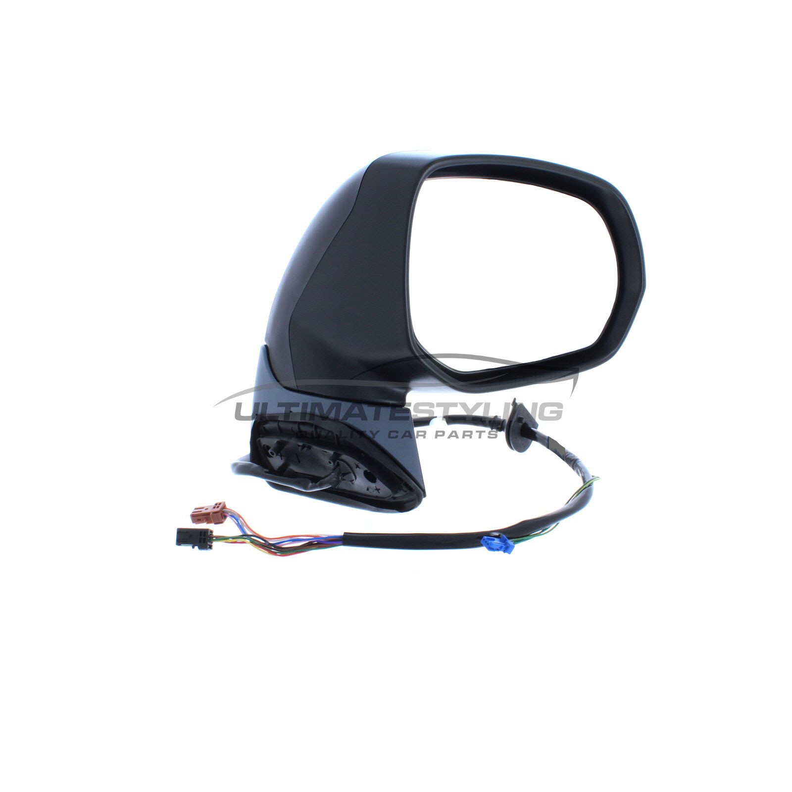 For Citroen C4 Picasso 07-13 Electric Wing Mirror Paintable Cover Drivers Side
