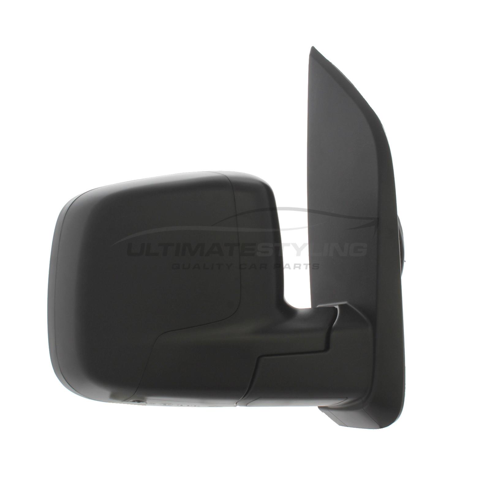 DOOR WING MIRROR HEATED ELECTRIC BLACK PASSENGER SIDE NEW CITROEN NEMO 2008