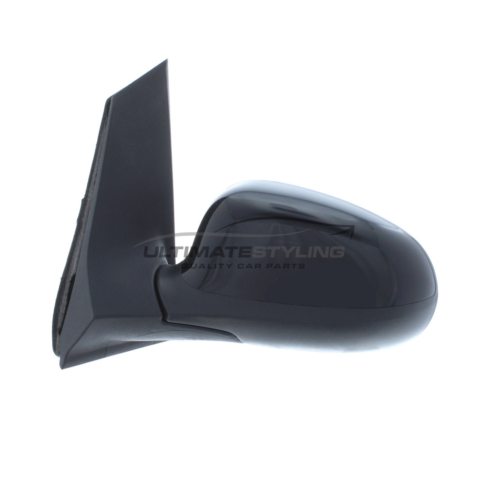 Ford Ka Wing Mirror Door Mirror Passenger Side Lh Cable Adjustment Non Heated Glass Black